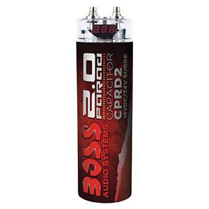 Boss CPRD2 2 Farad Capacitor with Digital Display