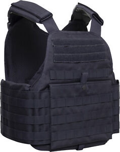 Tactical Plate Carrier Vest Assault Military Combat MOLLE Modular Adjustable