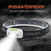 USB Rechargeable LED Headlamp Headlight Head Lamp Torch Flashlight Waterproof UK