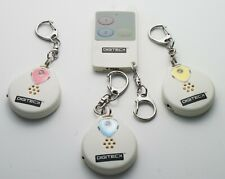 3 CHANNEL WIRELESS ELECTRONIC ASSET FINDER WITH 3 RECEIVERS KEY FINDER KEYRING