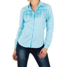 Figurbetonte Damenblusen, - tops & -shirts mit Western in Größe 38