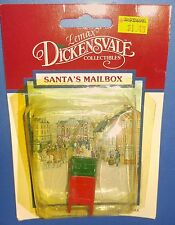 Lemax Dickensvale Christmas Village Collection Santa's Mailbox 1994 34065