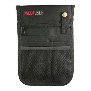 Nurse Vet Pouch Waist Bag Pocket Pick Organiser Black