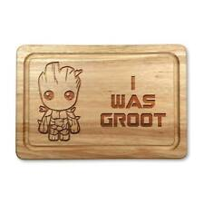 Marvel Inspired 'I Was Groot' Hard Wood Chopping Board Gift