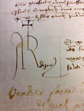 ANTIQUE PARCHMENT 1453