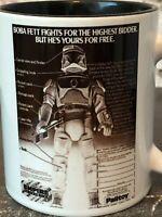 Star Wars Vintage Kenner Palitoy Boba Fett Action Figures Toys Gift Mug Cup