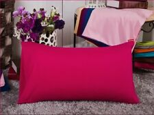 47x74cm Standard Queen Bed Pillowcases Bedding Pillow Cases Cover Solid Colors