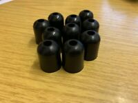10 X BSA TRIUMPH NORTON AJS IGNITION COIL COVER GROMMET RUBBER *WHOLESALE*