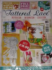 Tattered Lace Magazine #52 (Includes A Free Die Set) For Cards & Scrapbook Ideas