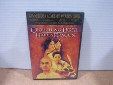 2001 Foreign Language, Crouching Tiger: Hidden Dragon Dvd Disc Special Edition