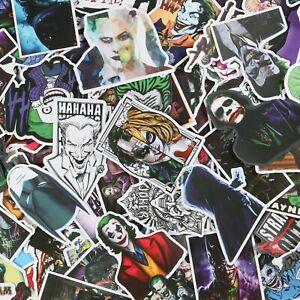 100pcs JOKER stickers pack, DC comics movie Clown Joker stickers
