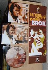 "ELVIS PRESLEY CD ""IF YOU DON'T COME BACK"" 2011 RAISED 2 ROCK AUDIO POSTER STAX +"