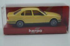 Herpa Modellauto 1:87 H0 BMW 535i zinkgelb Nr. 020657