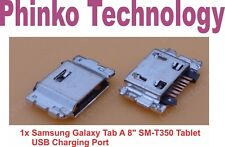 "Micro USB Charging Port Samsung Galaxy Tab A 8"" SM-T350 Tablet Connector 7 pin"