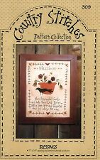 Blessings Applique And Embroidery Pattern -Coun Try Sittches