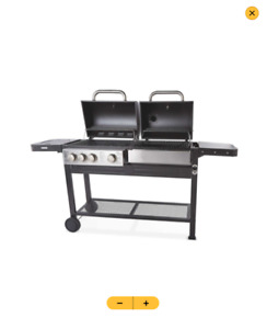 ✅ Gardenline Dual Fuel BBQ   Fast & Free Delivery ✅
