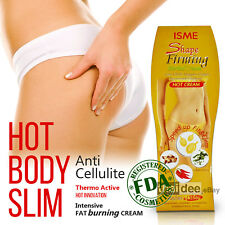 Anti Cellulite Body Fit Firming Slimming Hot Massage Cream Fat Burn Weight Loss