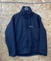 Berghaus Black AQ2 Waterproof Jacket  Mens Size Medium hiking walking