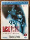 MICHAEL DOUGLAS Sharon Stone Basic Instinct 1992 Clásica erótica SUSPENSE GB DVD