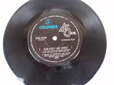 """SLIM DUSTY and FAMILY - RARE OZ 7"""" EP"""