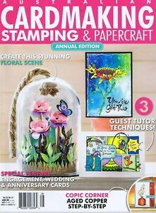 Card Making Stamping Papercraft Magazine - 3D Flowers Wedding Anniversary Vol 22