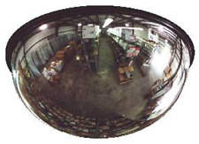 "8"" Acrylic Dome 180° View Safety Mirror , AV08F , Lester L. Brossard Co."