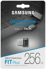 Samsung® FIT Plus 256GB USB 3.1 Flash Drive Speed up to 300MB/s Memory New
