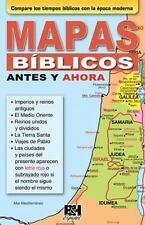 Coleccion Temas de Fe: Mapas Biblicos Antes y Ahora by Holman Bible Staff...
