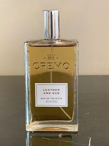 Cremo Leather and Oud Eau de Toilette for Men 3.4 Fl. oz./100 Ml Cologne Bottle
