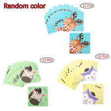 12x Anti-Slip Safety Grip Treads Stickers Bath Tubs Shower Stairs Tape Mats 12cm