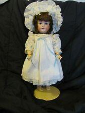"Antique 20"" Karl Hartman Doll ~ 4-Piece New Reproduction Clothes ~ Oilcloth Sho"