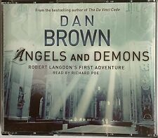 Robert Langdon: Angels and Demons Bk. 1 by Dan Brown (2004, CD, Unabridged)