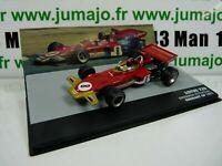 SEN14T eaglemoss 1/43 F1 BRESIL Formule 1 LOTUS 72D E.Fittipaldi Allemagne 1971