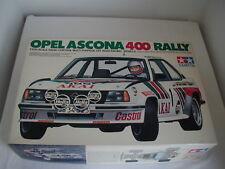 Vintage - 1/10 Tamiya OPEL ASCONA 400 RALLY 58037 - 1983 RC NIB