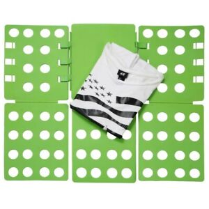 Ollieroo Clothes T Shirt Folding Board 3-Step Adjustable Organizer Green NIB