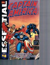 Essential Captain America Vol 4 by Englehart Gerber Robins 2008 TPB Marvel