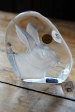 Clear Vintage Original Glass Paperweights