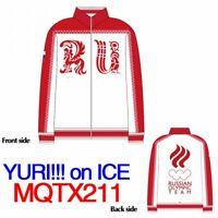 Japan anime cosplay YURI on ICE Victor Nikiforov athletic tracksuit【J1L1002】