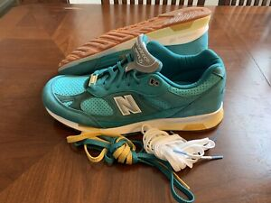 New Balance x Concepts Green 991.5 Made In England Suede Size 13 M9915CNP