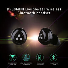 US ! Syllable D900 Mini Wireless Bluetooth Stereo Headphone Earphone Headset MIC