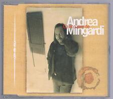 ANDREA MINGARDI CANTO PER TE CD SINGOLO SINGLE cds COME NUOVO!!!