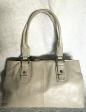 ANNAPELLE Beige Leather Tote/Shoulder Bag / Handbag
