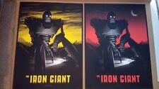 Mike Mitchell Mondo NYCC Iron Giant print poster AP regular & variant Brad Bird