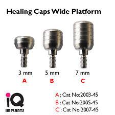 10 Healing Abutments Wide 4.5 mm Platform Dental Implants Implant Laboratory