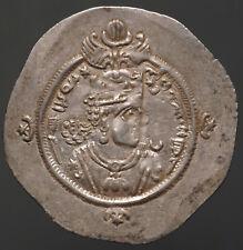 S-182a Sassanian, Ardashir Iii, Ad 628-630, Ar Drachm , year 2 mint Wyhc