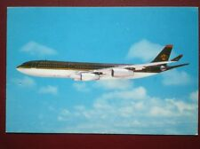 POSTCARD AIR AIRBUS 340-200 PLANE OF ROYAL JORDANIAN AIRWAYS