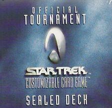 STAR TREK CCG : OFFICIAL TOURNAMENT SEALED DECK BOX