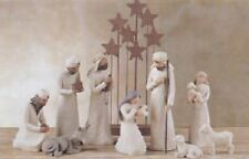 Demdaco Willow Tree Nativity 10 Piece Set