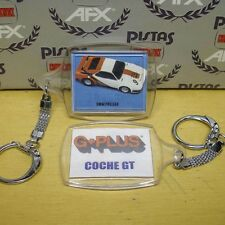 Aurora AFX G+ Whit/Red BMW PRO Slot Car Key Chain 1980s