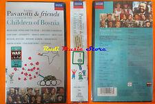 VHS LUCIANO PAVAROTTI & friends together children bosnia SIGILLATA cd lp (cl3)